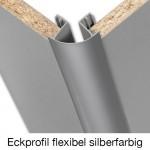 Eckprofil flexibel silberfarbig