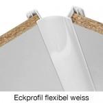 Eckprofil flexibel weiss
