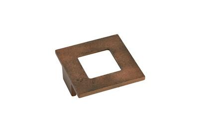 Möbelknopf quadratisch MK-ZD 4 70x70mm