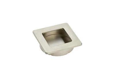 Möbel-Muschelgriff Quadratisch 60mm