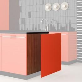 3mm Dekorplatte Küchenfronten
