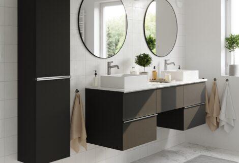 Mit neuen Badezimmerschrank-Fronten zur Wellness-Oase